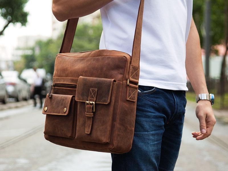 00d6941b9ffd Как выбрать мужскую кожаную сумку через плечо - Интернет-журнал «Мой ...